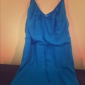 Blue old navy coverup